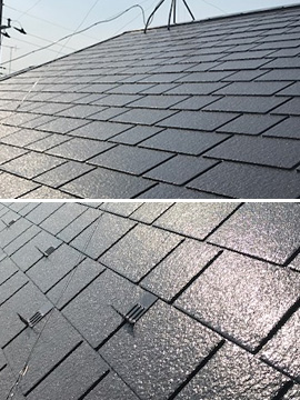 コロニアル屋根塗装(施工後)
