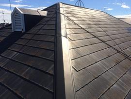アパートコロニアル屋根塗装(施工前)