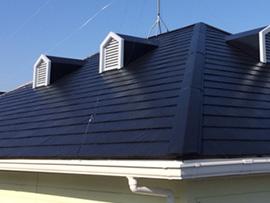 アパートコロニアル屋根塗装(施工後)