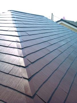 屋根塗装(施工後)